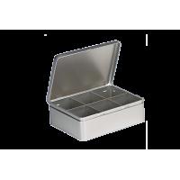 Metalinė dėžutė - 6 skyrelių