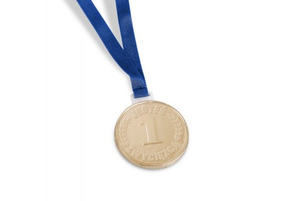 *Šokoladinis medalis su pakabuku